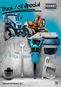Tools for repair and maintenance of trucks and special vehicles (HAZET, 2016)