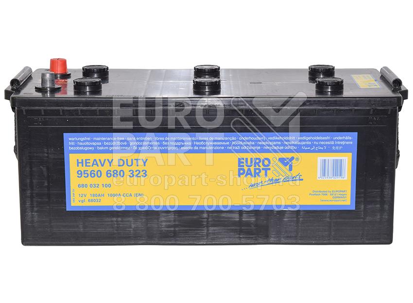 EUROPART / 680032100 - батарея аккумуляторная 12V 180Ah 1000A