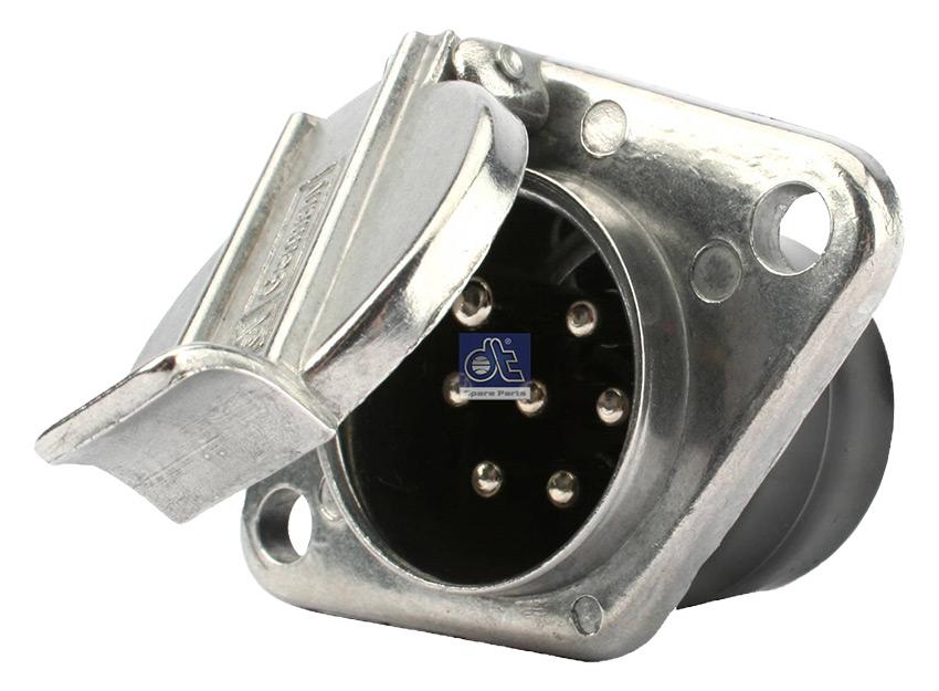 Diesel Technic / 4.60116 - розетка штепсельная 7 полюсная 24 В