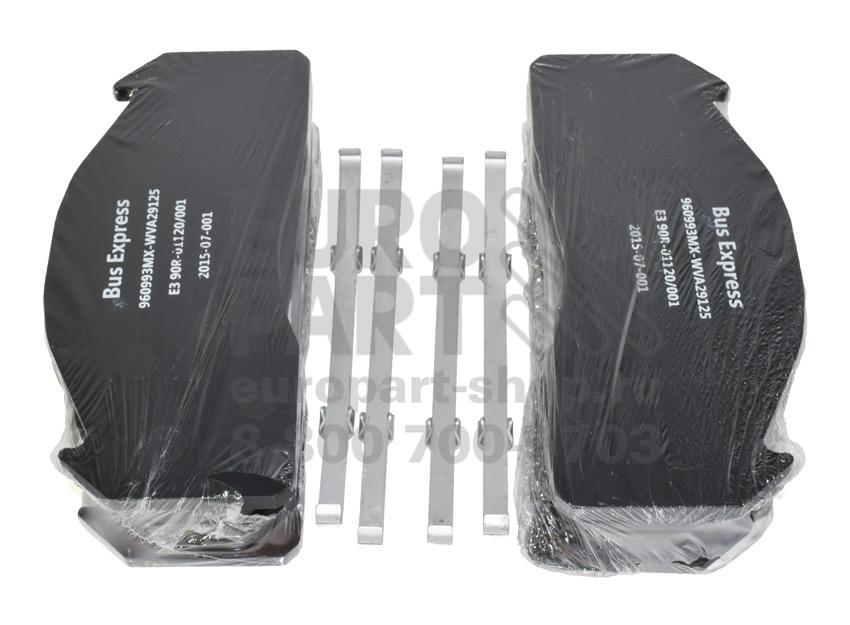 EMMERRE / 960993E3 - колодки тормозные дисковые 249.5×111×29 Meritor D Duco