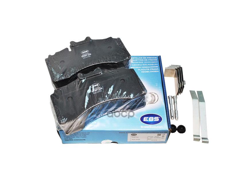 EBS / EKBP228 - колодки тормозные дисковые комплект для TSB 4309