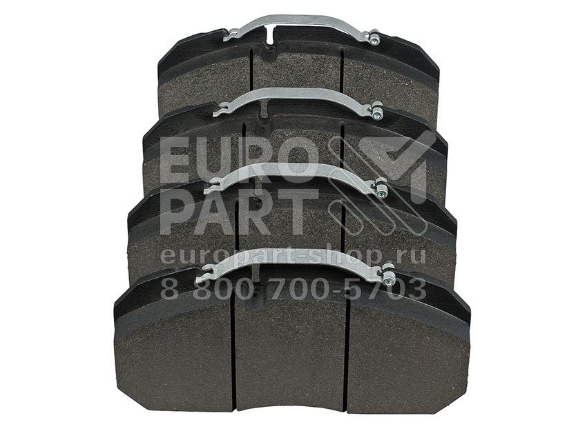 Europart / 2129030009 - колодки тормозные дисковые 249.6x118.4x28.2 Meritor Elsa 1/D3