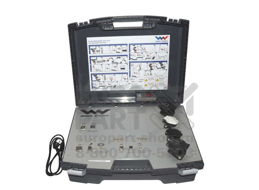 WABCO-WUERTH / WW05500000 - Kit for the diagnosis of electrical equipment trailers