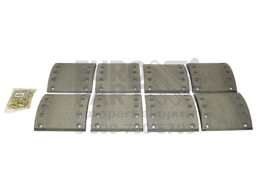 накладки тормозные Europart / 2119094008 комплект STD 210x200 (8шт)