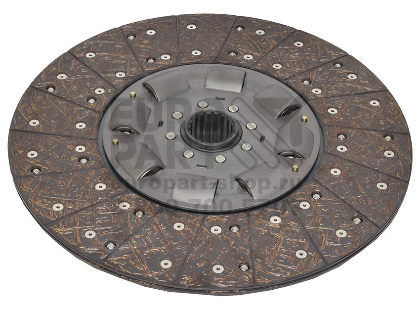 Templin / 08.270.1000.640 - clutch disc 430 mm 45х50-18N