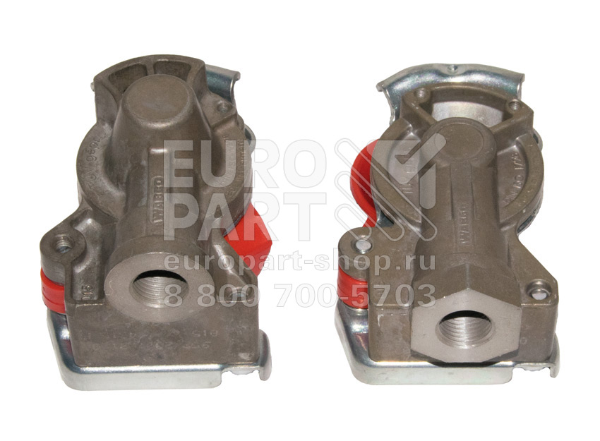 Wabco / 4006043290 - Red coupling heads kit M16x1.5 (9522000210+9522002210)
