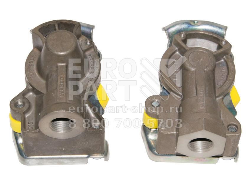 Wabco / 4006043300 - Yellow coupling heads kit M16x1.5 (9522000220+9522002220)
